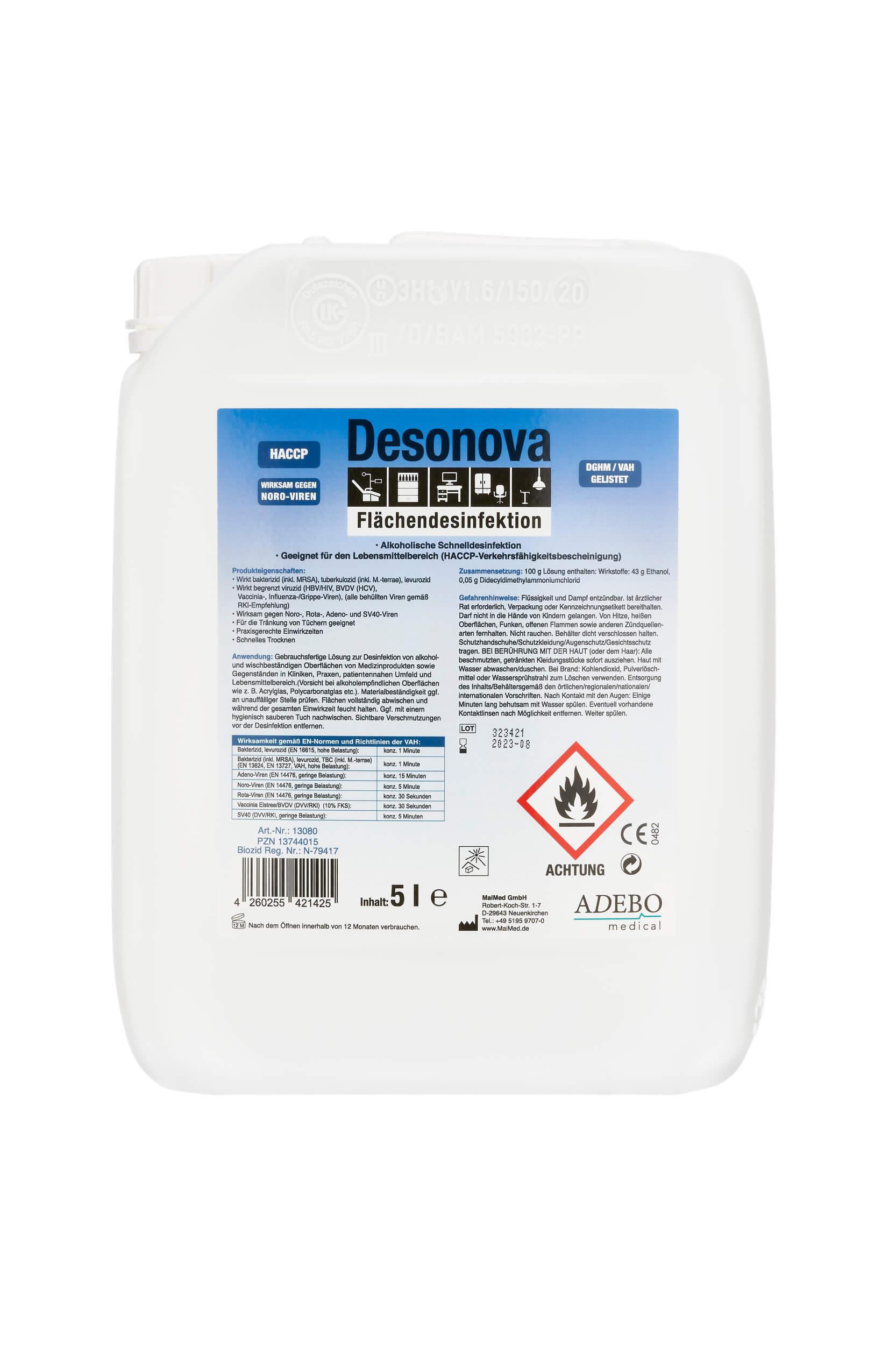 Desonova - Flächendesinfektion