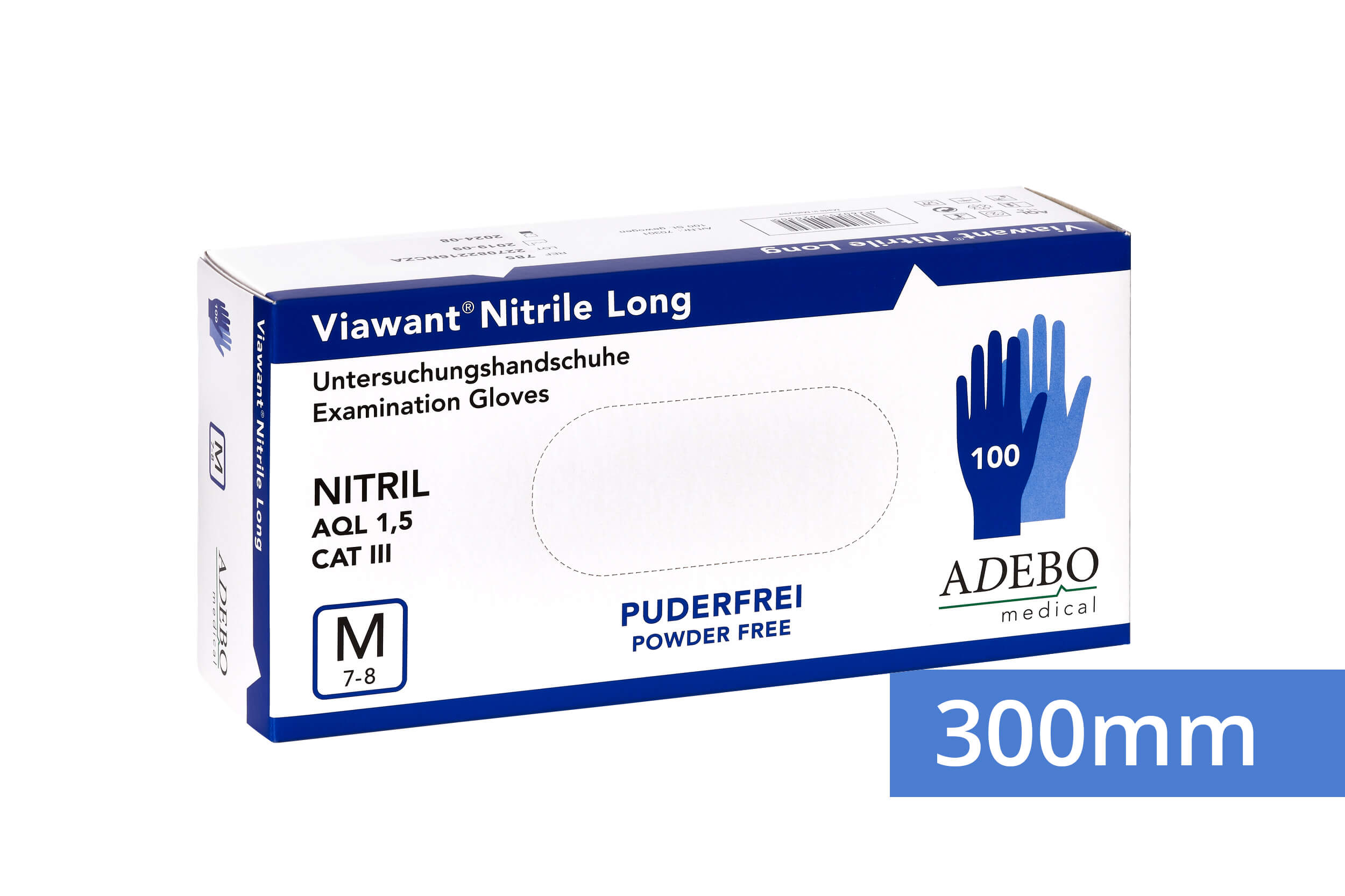 Viawant Nitrile Long - Einmalhandschuhe aus Nitril