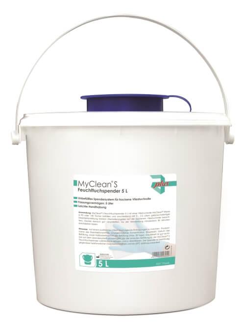 Spenderbox für Desinfektionstücher
