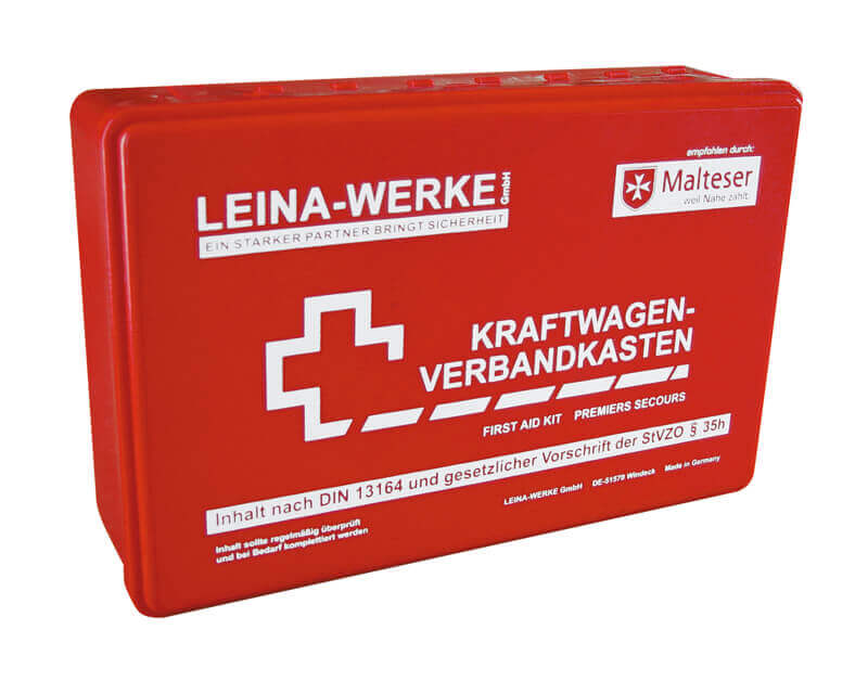KFZ-Verbandkasten - DIN 13164