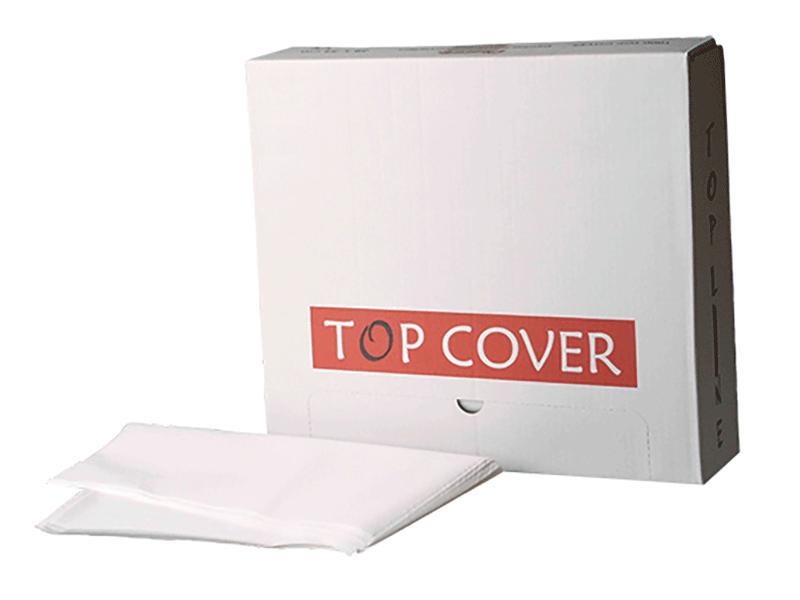 Nasskreppservietten, Top Cover - weiß