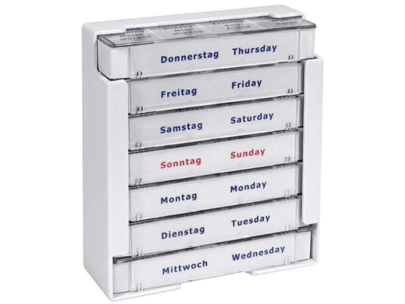 Tablettenbox - Woche
