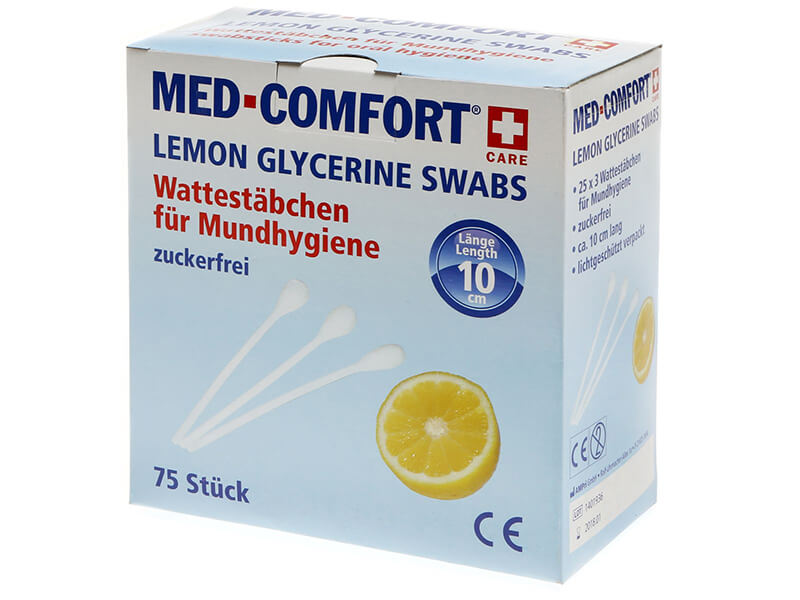 Wattestäbchen / Lemon-Sticks