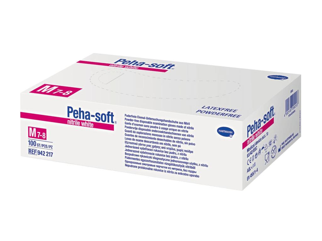Peha-Soft Nitrilhandschuhe White