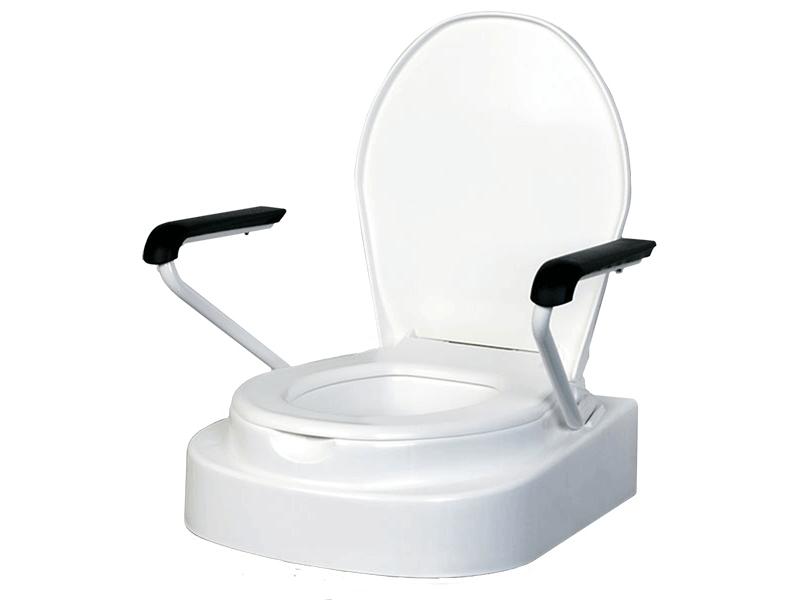 Toilettensitz mit Lehnen