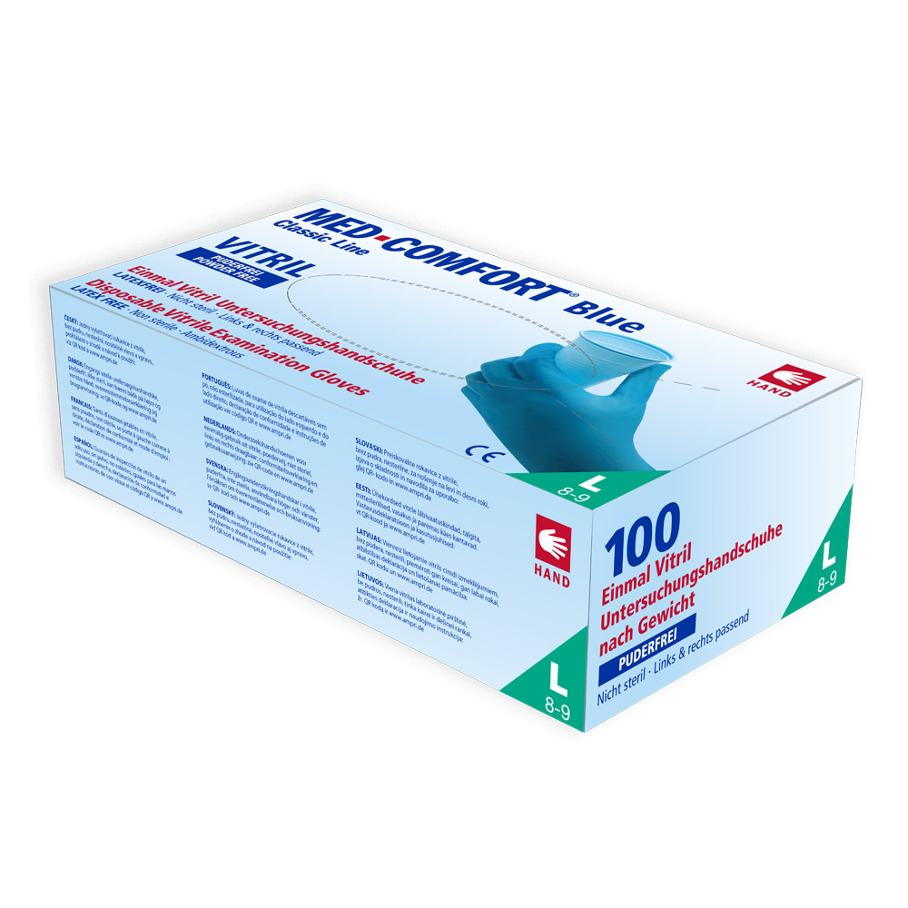 Med-Comfort Blue Vitril