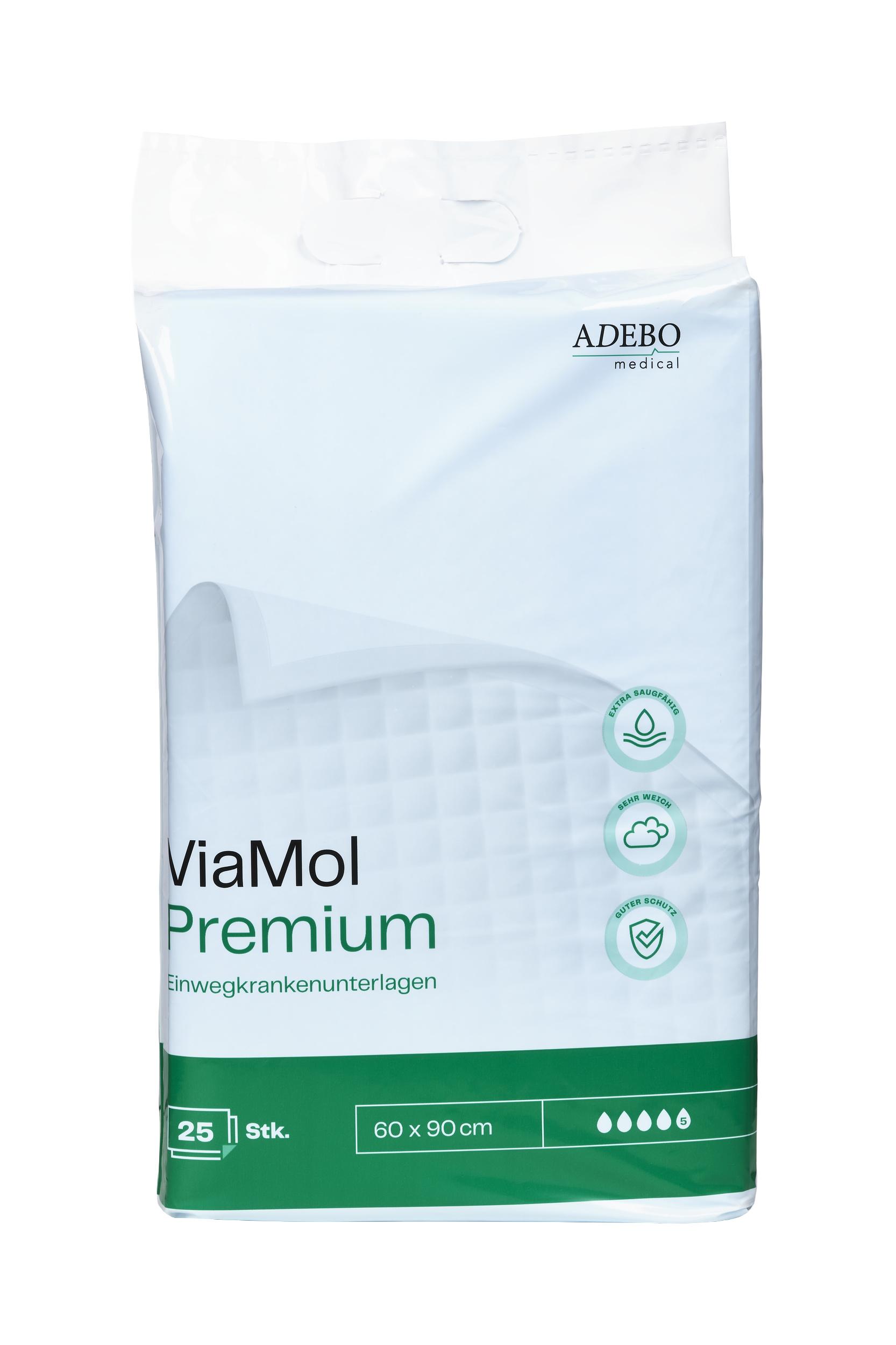 ViaMol Premium Bettschutzeinlagen - 1000 ml