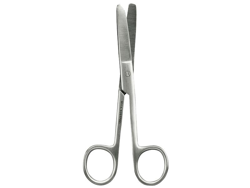 Chirurgische Schere, stumpf/stumpf