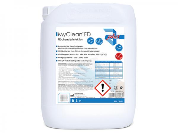 MyClean FD - Flächendesinfektion Flüssigkonzentrat