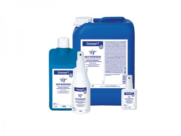 Cutasept F - farbloses Hautantiseptikum