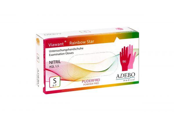 Viawant Rainbow Star - Einmalhandschuhe aus Nitril
