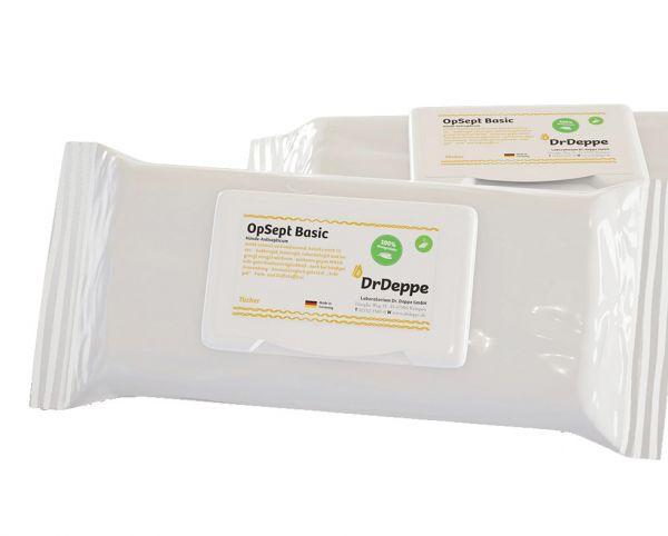 OP Sept Basic Wipes - Händedesinfektiontücher